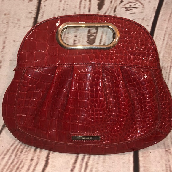 Nine West Handbags - Red patent leather clutch. Nine West